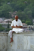 Hindu Pilgrim - Rishikesh - India