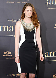 Kristen Stewart attends the Twilight II photocall,  Villa Magna Hotel, Madrid, Spain, November 15, 2012.  Photo by Belen Diaz / Eduardo Dieguez / DyD FOtografos / i-Images...SPAIN OUT