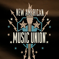 Signage for the New American Music Union in Pittsburgh, PA