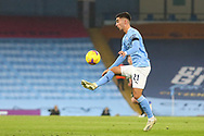 Manchester City midfielder Ferrán Torres (21) during the Premier League match between Manchester City and Burnley at the Etihad Stadium, Manchester, England on 28 November 2020.