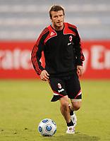 Fotball<br /> Italia<br /> Foto: Witters/Digitalsport<br /> NORWAY ONLY<br /> <br /> 05.01.2009<br /> <br /> David Beckham<br /> Fussball Trainingslager AC Milan in Dubai