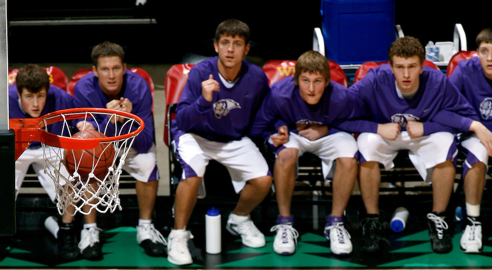 2007 MSHSL State Basketball Championship at Target Center in Minneapolis, MN.