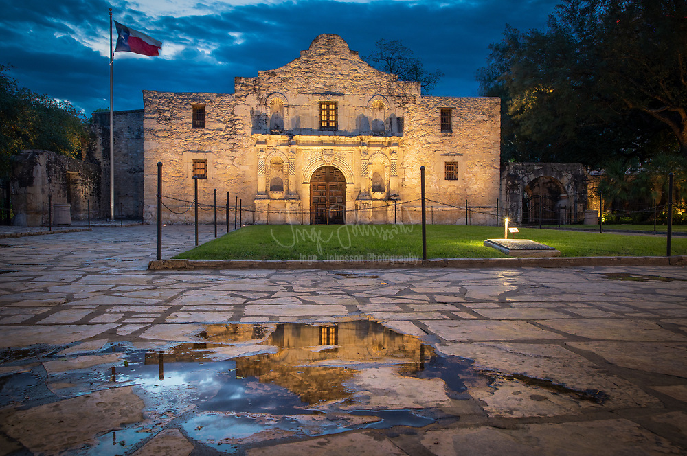 """The Alamo is an old Spanish mission (like a church built by Catholic missionaries to minister to the natives) that is in what is now San Antonio, Texas, United States. The Alamo was authorized in 1718 but was not built until 1744. The original name was San Antonio de Valero Mission.<br /> <br /> The Alamo is most famous for The Battle of the Alamo, which took place during 1836. It was occupied by 187 men from Texas and around the world who were fighting for the independence of Texas from what was then Mexico. On March 6, 1836, the men in the Alamo were defeated by a force of 5,000 Mexican troops. General Antonio Lopez de Santa Anna was the general for the Mexican army. All 187 Texans were killed, and """"Remember the Alamo!"""" became the battle cry of the Texas Revolution. The battle ended on March 6, 1836, when the defenders were executed.<br /> <br /> Many years later, the Texas government restored the Alamo. The Alamo became a National Historic Landmark in 1960, and is now open for tourists. The Alamo also became a UNESCO World Heritage Site on July 5, 2015."""
