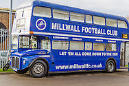 Millwall community bus before the fourth round FA Cup match at The Den, London<br /> Picture by Richard Brooks/Focus Images Ltd 07947656233<br /> 29/01/2017