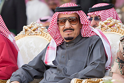 """File photo - King Salman Bin Abdul Aziz Al Saud attends military drill """"Northern Thunder"""" in Hafr Al Batin area, north of Saudi Arabia, on March 11, 2016. Saudi Arabia's king has appointed his son Mohammed bin Salman as crown prince - replacing his nephew, Mohammed bin Nayef, as first in line to the throne. Prince Mohammed bin Nayef, 57, has been removed from his role as head of domestic security, state media say. Photo by Balkis Press/ABACAPRESS.COM"""