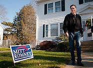Mitt Romney Manchester Door Knocking 12/3/2011
