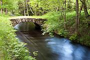 Tettauer Schwemmkanal, Brücke, Sumava Nationalpark, Böhmerwald, Tschechien | Tettau sluiceway, Sumava national park, Bohemian Forest, Czech Republic
