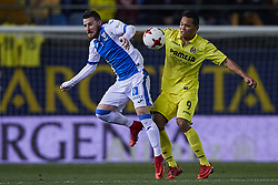 January 10, 2018 - Vila-Real, Castellon, Spain - Bacca (R) of Villarreal CF competes for the ball with Tito of CD Leganes during the Copa del Rey Round of 16, second leg game between Villarreal CF and CD Leganes on January 10, 2018 in Vila-real, Spain  (Credit Image: © David Aliaga/NurPhoto via ZUMA Press)