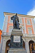 Statue of Garibaldi at Piazza Garibaldi, Pisa, Tuscany, Italy