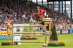 Bruynseels Niels, BEL, Utamaro D Ecaussines<br /> CHIO Aachen 2019<br /> Weltfest des Pferdesports<br /> © Hippo Foto - Stefan Lafrentz<br /> Bruynseels Niels, BEL, Utamaro D Ecaussines