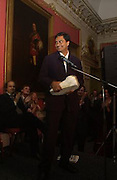 Aniruddha Bahal, Literary Review Bad Sex in Fiction Award. In and Out Club, St. James, Sq. 3 December 2003. © Copyright Photograph by Dafydd Jones 66 Stockwell Park Rd. London SW9 0DA Tel 020 7733 0108 www.dafjones.com