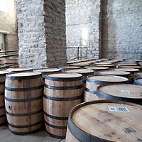 Barrels at Woodford Reserve Distillery