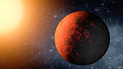 This artist's animation flies through the Kepler-20 star system, where NASA's Kepler mission discovered the first Earth-size planets around a star beyond our own.