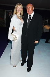 ANDREW NEIL and AURELIA BONITO at The British Red Cross London Ball - H2O The Element of Life, held at The Room by The River, 99 Upper Ground, London SE1 on 17th November 2005.<br /><br />NON EXCLUSIVE - WORLD RIGHTS