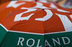 June 1, 2018 - Paris, Ile-de-France, France - Rain break at Roland Garros Grand Slam Tournament - Day 6 on June 01, 2018 in Paris, France. (Credit Image: © Robert Szaniszlo/NurPhoto via ZUMA Press)