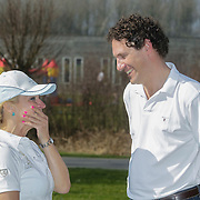 NLD/Spaarnwoude/20120323 - Golfen voor Spieren voor Spieren, Mariska van Kolck en Marcel Maier
