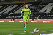 Cardiff City goalkeeper Alex Smithies (12)  during the EFL Sky Bet Championship match between Derby County and Cardiff City at the Pride Park, Derby, England on 28 October 2020.