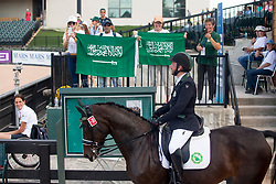 Sharbatly Ahmed, KSA, Cassandra<br /> World Equestrian Games - Tryon 2018<br /> © Hippo Foto - Sharon Vandeput<br /> 18/09/18