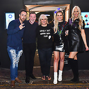 Paul Manners,Larissa Eddie,Hayley Palmer attend the preview PhoboPhobia Live Halloween Show on 10th October 2019, at The London Bridge Experience & London Tombs, London, UK.