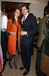 EDWARD TAYLOR and GENEVIEVE CHAPMAN at a party hosted by the Gussalli Beretta family to celebrate the opening of the new Beretta store, 36 St.James's Street, London SW1 on 10th January 2006.<br /><br />NON EXCLUSIVE - WORLD RIGHTS