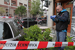 Italy, Naples -May 3, 2019.Camorra mafia war. Three wounded in an ambush .A four-year-old girl hit along with her grandmother and a criminal in a shooting. She is is in serious condition in hospital. (Credit Image: © Napoli/Giacomino/Ropi via ZUMA Press)