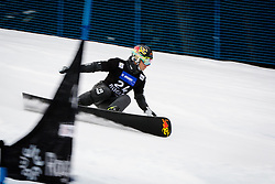Lukas Mathies (AUT) competes during Final Run of Men's Parallel Giant Slalom at FIS Snowboard World Cup Rogla 2016, on January 23, 2016 in Course Jasa, Rogla, Slovenia. Photo by Ziga Zupan / Sportida