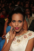 October 13, 2012- Bronx, NY: Actress Kerry Washington at the Black Girls Rock! Awards presented by BET Networks and sponsored by Chevy held at the Paradise Theater on October 13, 2012 in the Bronx, New York. BLACK GIRLS ROCK! Inc. is 501(c)3 non-profit youth empowerment and mentoring organization founded by DJ Beverly Bond, established to promote the arts for young women of color, as well as to encourage dialogue and analysis of the ways women of color are portrayed in the media. (Terrence Jennings)