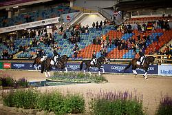 Team Denmark, Kirk Thinggaard Agnete, Zibrandtsen Anna, Kasprzak Anna, Dufour Cathrine<br /> FEI European Dressage Championships - Goteborg 2017 <br /> © Hippo Foto - Dirk Caremans<br /> 23/08/2017,