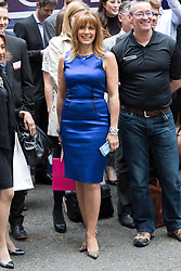 © Licensed to London News Pictures. 23/06/2015. London, UK. CAROL SMILLIE at the launch of the Start-Up Britain campaign routemaster bus in Downing Street, London with Prime Minister, David Cameron. Over five weeks the routemaster bus will visit 30 towns and cities - including Aberdeen, Inverness, Swansea York and Leeds - and aim to engage with 15,000 individuals through workshops and networking events, making them aware of the assistance Start-Up Britain can offer. Photo credit : Vickie Flores/LNP