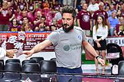 Gianmarco Pozzecco<br /> Umana Reyer Venezia - Banco di Sardegna Dinamo Sassari<br /> LBA Serie A Postemobile 2018-2019 Playoff Finale Gara 1<br /> Sassari, 10/06/2019<br /> Foto L.Canu - Ciamillo-Castoria