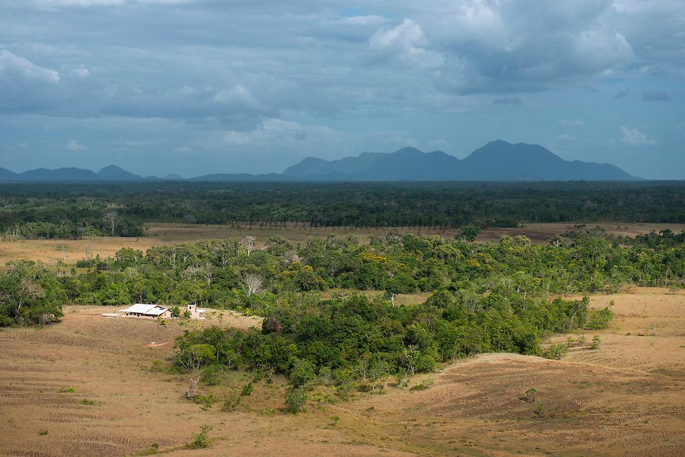 Amerindian House<br /> Savanna <br /> Rurununi<br /> GUYANA<br /> South America