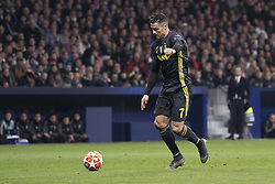 February 21, 2019 - Madrid, Madrid, Spain - Cristiano Ronaldo of Juventus  during UEFA Champions League round of 16 soccer match between Atletico Madrid and Juventus at Wanda Metropolitano Stadium in Madrid, Spain on February 20, 2019 Photo: Oscar Gonzalez/NurPhoto  (Credit Image: © Oscar Gonzalez/NurPhoto via ZUMA Press)