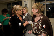 CANDIDA LYCETT GREEN; LADY LUCINDA WORSTHORNE, Grandmothers United for ASAP. Vogue House. Hanover Sq. London. 22 October 2008 *** Local Caption *** -DO NOT ARCHIVE -Copyright Photograph by Dafydd Jones. 248 Clapham Rd. London SW9 0PZ. Tel 0207 820 0771. www.dafjones.com