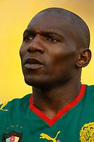 Photo: Steve Bond/Richard Lane Photography.<br />Egypt v Cameroun. Africa Cup of Nations. 22/01/2008. Njitap Geremi of Cameroon & Newcastle