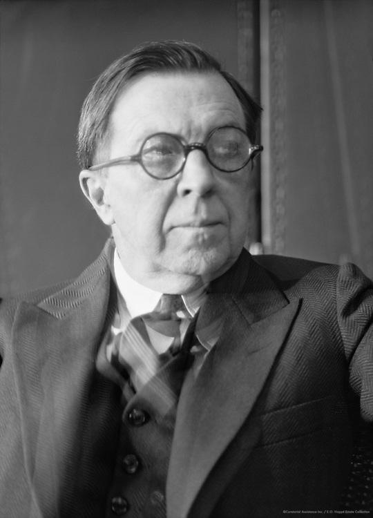 Rupert Hughes, historian, novelist, film director, composer, 1926