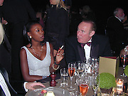 Andrew Neil. Moet & Chandon fashion Tribute. Shoreditch High St. London 24 October 2000. © Copyright Photograph by Dafydd Jones 66 Stockwell Park Rd. London SW9 0DA Tel 020 7733 0108 www.dafjones.com