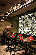 Dining room at Ho Lee Fook restaurant, Central, Hong Kong