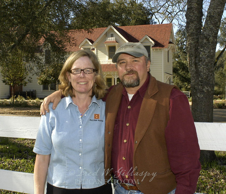 Leslie and Mitch Wyss - Halter Ranch, Paso Robles