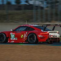 #91, Porsche 911 RSR (2019), Porsche GT Team, drivers: Gianmaria Bruni, Richard Lietz, Frederic Makowiecki, LM GTE Pro, at the Le Mans 24H, 2020