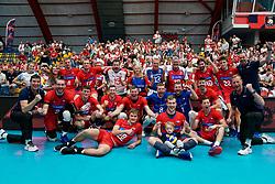 19-09-2019 NED: EC Volleyball 2019 Czech Republic - Montenegro, Amsterdam<br /> First round group D / Team Czech Republic