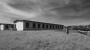 The technical school at Murambi where 40-60,000 Tutsis were massacred over four days by Hutu extremists during the 1994 genocide that killed one million.