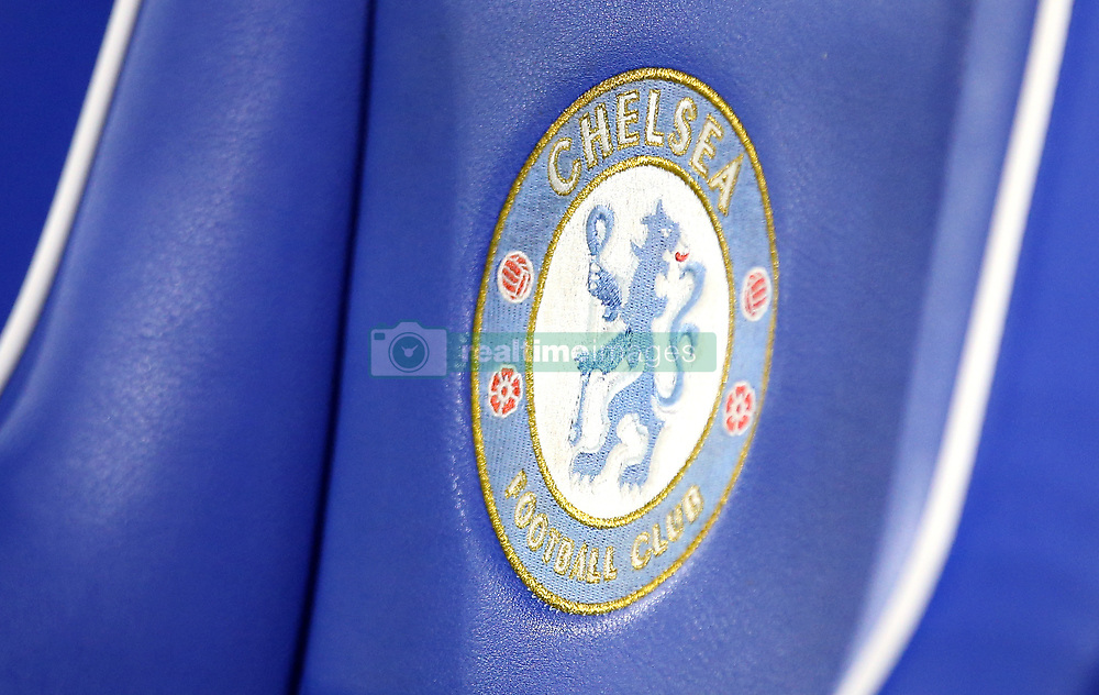 Close up of the Chelsea dugout before the game