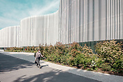 Milano, the new Sda Boccony University Campus.  the project of the New Campus is designed by the two Japanese architects Kazuyo Sejima and Ryue Nishizawa of SANAA studio.