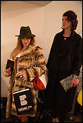 JESSICA PATTERSON; , Sorapol Ollin Atelier and Pret a Porter Presentation. Strand Gallery.  32 john Adam St. WC2. London. 20 February 2015