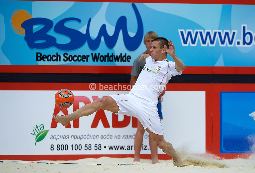 MOSCOW, RUSSIA - JULY 04: FIFA Beach Soccer World Cup 2013 - Qualifier Moscow on July 04 , 2012 in Moscow, Russia. (Photo by Manuel Queimadelos)
