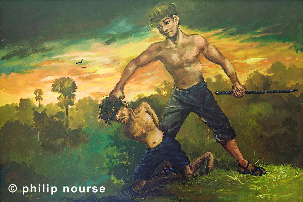 The 'Killing Fields' and prison, Phnom Penh