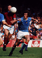 Fotball<br /> England <br /> Foto: Colorsport/Digitalsport<br /> NORWAY ONLY<br /> <br /> Tommy Booth (Manchester City). Manchester City v Burnley, 18/8/73.