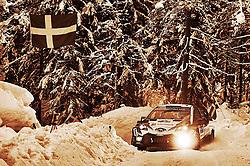 February 15, 2018 - Suede - Ott Tanak (EST) - Martin Jarveoja (EST) - Toyota Yaris WRC (Credit Image: © Panoramic via ZUMA Press)