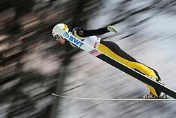 November 19, 2017 - Wisla, Poland - Evgeniy Klimov (RUS), competes in the individual competition during the FIS Ski Jumping World Cup on November 19, 2017 in Wisla, Poland. (Credit Image: © Foto Olimpik/NurPhoto via ZUMA Press)