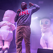 WASHINGTON, DC - November 25th, 2019 - DaBaby performs at Echostage in Washington, D.C. His sophomore album, Kirk, was released in September and reached number one on the Billboard albums chart. (Photo by Kyle Gustafson / For The Washington Post)